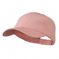 Youth Athletic Jersey Mesh Cap - Pink