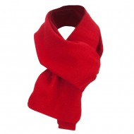 Acrylic Knit Classic Scarf - Red