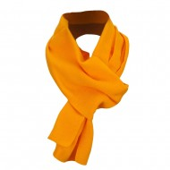Acrylic Knit Classic Scarf - Gold