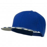 Ziger Two Tone Snapback Cap - Royal