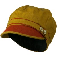 Newsboy - Yellow Women's Wool Newsboy Hat