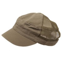 Cadet - Olive Enzyme Mesh Army Cap
