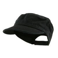 Cadet - Black Enzyme Regular Solid Army Cap