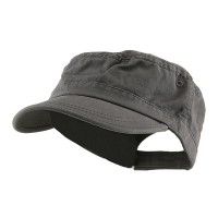 Cadet - Grey Enzyme Regular Solid Army Cap