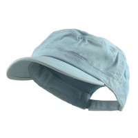 Cadet - Blue Enzyme Regular Solid Army Cap