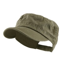 Cadet - Olive Enzyme Regular Solid Army Cap