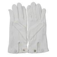 Women's Formal Gloves - White