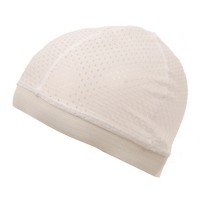 Wrap - White Cool Mesh Dome Cap