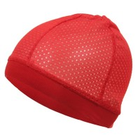 Wrap - Red Cool Mesh Dome Cap