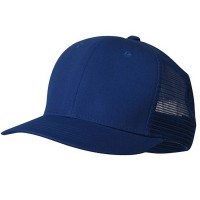 e4Hats.com: Cotton Mesh Cap-Royal