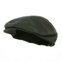 Ivy - Dark Grey Washed Canvas Ivy Cap