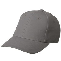 Ball Cap - Grey Pro Style Fitted Cap