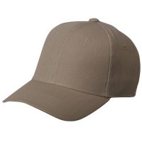 Ball Cap - Khaki Pro Style Fitted Cap