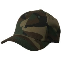 Ball Cap - Camo Low Profile Camouflaged Cap