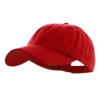 Ball Cap - Red Low Profile Unstructured Cap