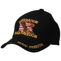 Embroidered Cap - Operation Iraqi Freedom Military Cap