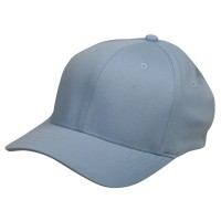 Ball Cap - Blue Wooly Combed Twill Flexfit Cap