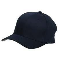 Ball Cap - Navy Wooly Combed Twill Flexfit Cap