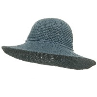 Dressy - Blue Ladies H, Crocheted Hats