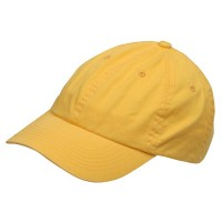 Ball Cap - Yellow Youth Washed Chino Twill Cap