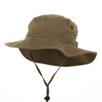 Outdoor - Khaki Washed Hunting Hats