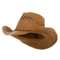 Western - Brown Outback Toyo Cowboy Hat