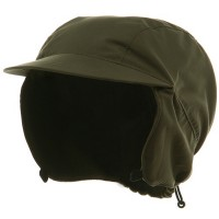 Trooper - Olive Outdoor Hunting Cap