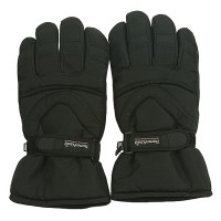 Glove - Black Water Repellent Polar Ski Glove