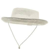 Western - White Child Ultra Straw Cowboy Hat
