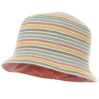 Bucket - Color Girl Straw Hat