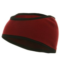Band - Burgundy Fleece Head Band