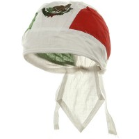 Wrap - Mexican Repeat USA Flag Series Headwraps