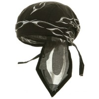Wrap - Black Flame Series Head Wraps