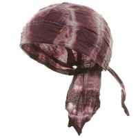 Wrap - Purple Tie Dye Series Head Wrap