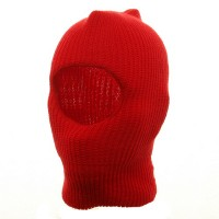 Face Mask - Red Child One Hole Ski Mask