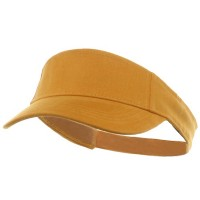 Visor - Yellow Kids Deluxe Cotton Visor