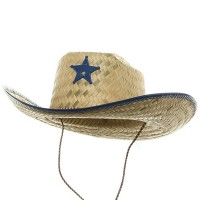 Western - Royal Natural Straw Sheriff Hat