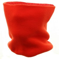Warmer - Orange Knit Neck Warmer