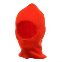 Face Mask - Blaze Thinsulate One Hole Ribbed Mask