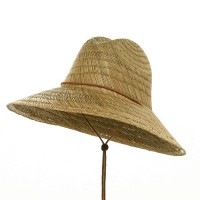 Western - Natural Fine Straw Lifeguard Hat