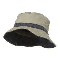 Bucket - Khaki Navy Youth Reversible Hats
