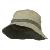 Bucket - Khaki Green Youth Reversible Hats