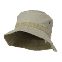 Bucket - Putty Khaki Youth Reversible Hats