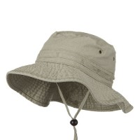 Outdoor - Beige Youth Fishing Hat (2)