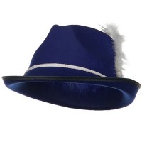 Costume - Royal Better Felt Biarritz Hat with feather