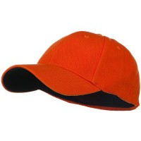Ball Cap - Orange Low Profile Washed Flex Cap