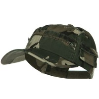 Ball Cap - Safari Camo Washed Pocket Cap