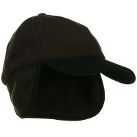 Trooper - Brown Fleece Cap with Warmer Flap