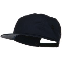 Ball Cap - Navy 5 Panel Camouflage Twill Cap