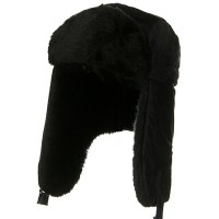 Trooper - Black Fleece Trooper Faux Fur Lining
